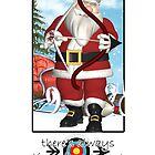 Christmas Card - Always Time For Archery  by Moonlake