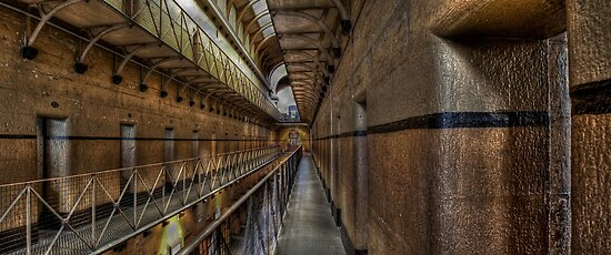 Old Melbourne Gaol by Scott Sheehan