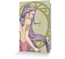 Tattooed Mermaid 3 Greeting Card