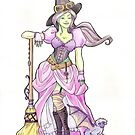 Steampunk Wicked Witch of the West by Karen  Hallion