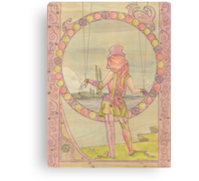 Steampunk Marionette Canvas Print