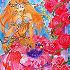 Rose Bellydancer Mermaid by elisachong