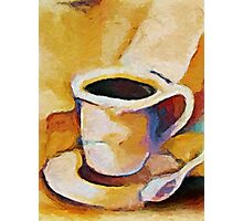 Cafe Lungo Photographic Print