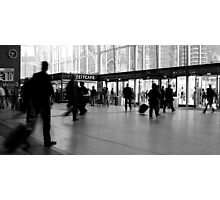 Time Cafe - Cologne, Central Station Photographic Print