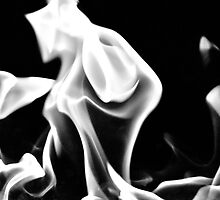 Ghostly (B&W) by Valerie Rosen