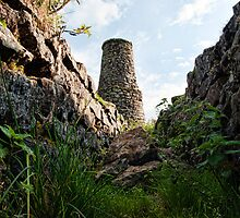 Smelt Mill Chimney by photomusdigital