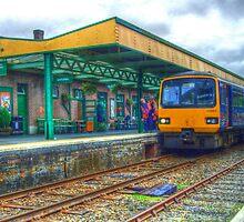 Okehampton Station in HDR by Rob Hawkins