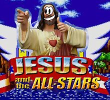 Jesus and the All-Stars title screen by jezkemp