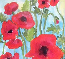 Poppies VII by Alexandra Felgate