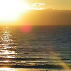 Sunrise over the Atlantic by Mindy Miller