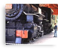 Age of Steam Canvas Print