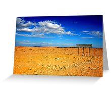 Tropic of Capricorn Greeting Card