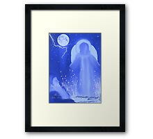 EARTH ANGEL.........got to watch the cute video dedicated to the artist of red bubble Framed Print