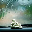 Lord Ganesha... in the Rain... by Biren Brahmbhatt