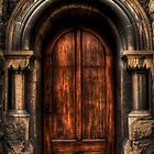 Old Magistrates Court Door by Scott Sheehan
