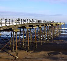 The Pier Saltburn by Trevor Kersley