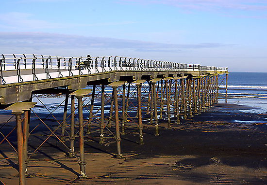 The Pier Saltburn by Trevor Kersley