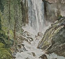 Vernal Falls by Sally Sargent