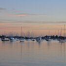 Belmont Bay Pastels by Bev Woodman