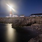 Portland Bill Nightscape by Ian Middleton