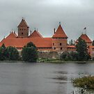 Castle of TRAKAI, wall by Antanas