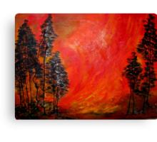 Veldfire Canvas Print