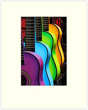 """Gitars"" by Chet  King"