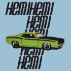Plymouth Hemi Cuda '71 by Csaba Gyurak