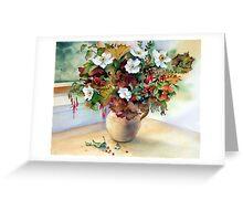 Autumn Jug Greeting Card