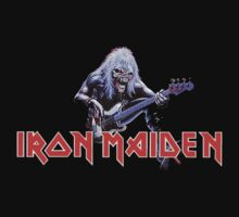 Iron Maiden  - Logo and Eddie by HolyDio