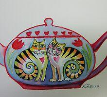Little teapot by Karin Zeller