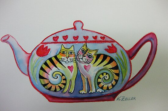 Little teapot by Karin Zeller