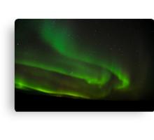 Northern Lights of Alberta Canada Canvas Print