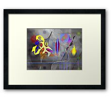 The impossible separation between war and peace Framed Print