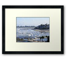Dusk at Kings Beach Framed Print