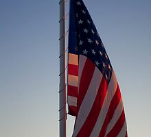 Sunlit Stars and Stripes by RobSimpson
