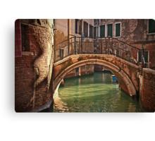 Venice - bridge Canvas Print