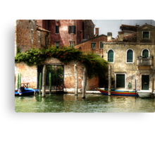 Venice, S.Pietro di Castello Canvas Print