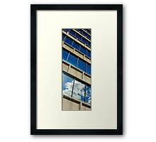 Reflections of A Downtown September Afternoon Framed Print