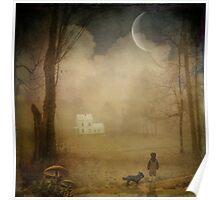 { wood cottage } Poster