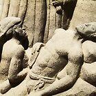 Religious Sand Sculpture by James Zickmantel