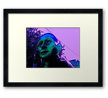 Hugo, Man of a Thousand Faces, Pinkened Framed Print