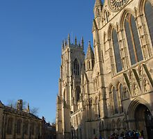 York Minster - York - England by Dimbledar