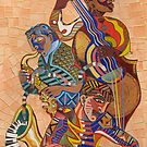 Jazz Trio by Sally Sargent