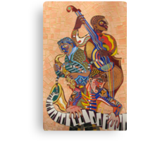 Jazz Trio Canvas Print