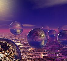 21 Spheres for Fears by Sazzart