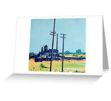 Patea Freezing Works: On the grid Greeting Card