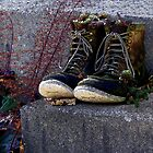 These Boots Were Made For Walkin' #1 by wiscbackroadz