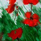 Poppies in the Wind by ange2