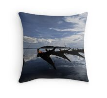 Mirror Sky Throw Pillow